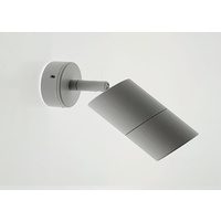 SINGLE ADJUSTABLE WALL-PILLAR LIGHT IP65-WHITE